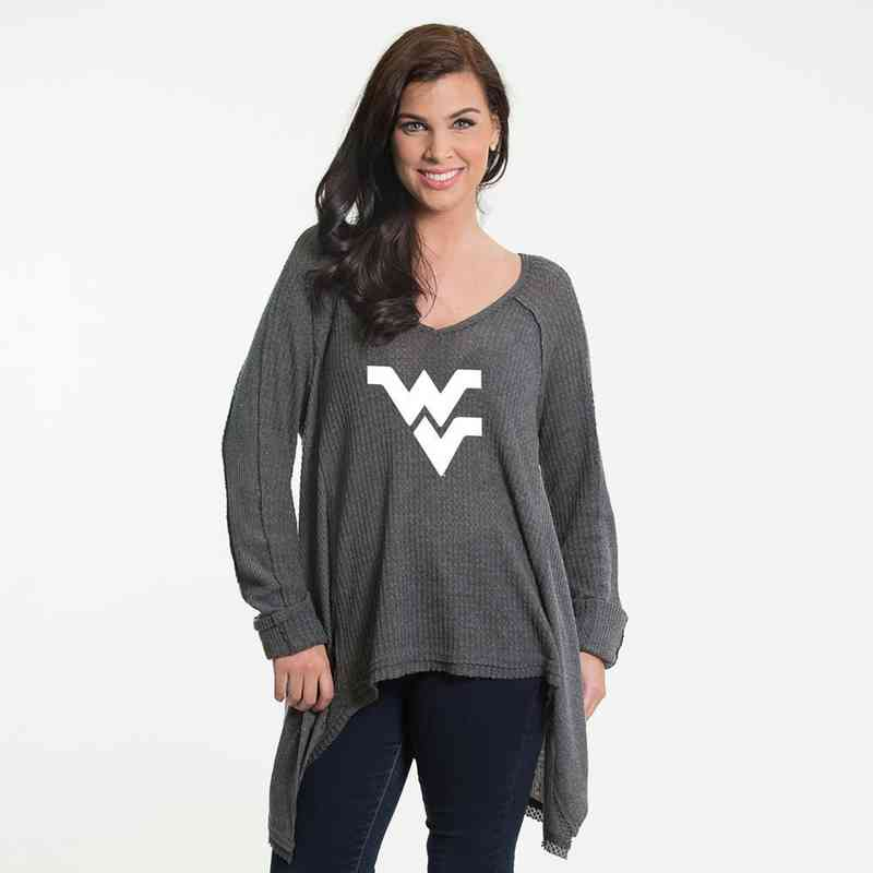 West Virigina   Melody Thermal Knit Top by Flying Colors