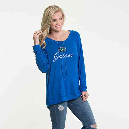 Florida - Katie Key-hole cut-out back pullover by Flying Colors