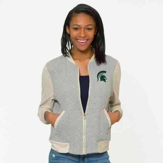Michigan State  Roni Letterman Jacket by Flying Colors