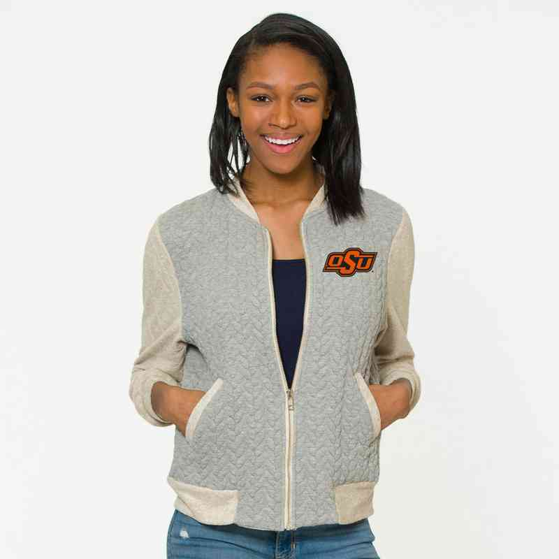Oklahoma State   Roni Letterman Jacket by Flying Colors