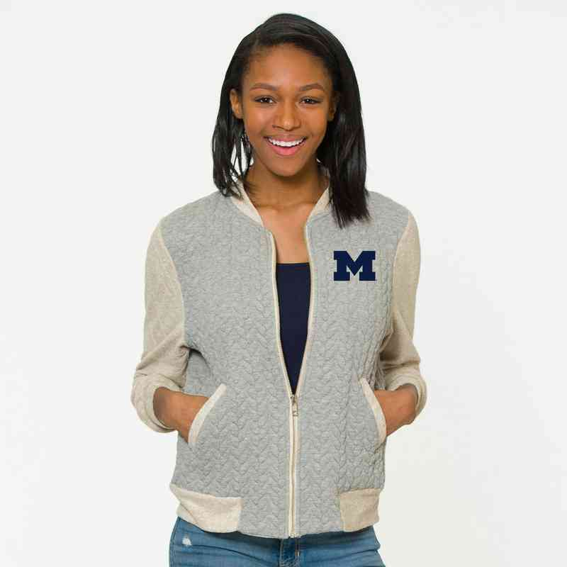 Michigan   Roni Letterman Jacket by Flying Colors