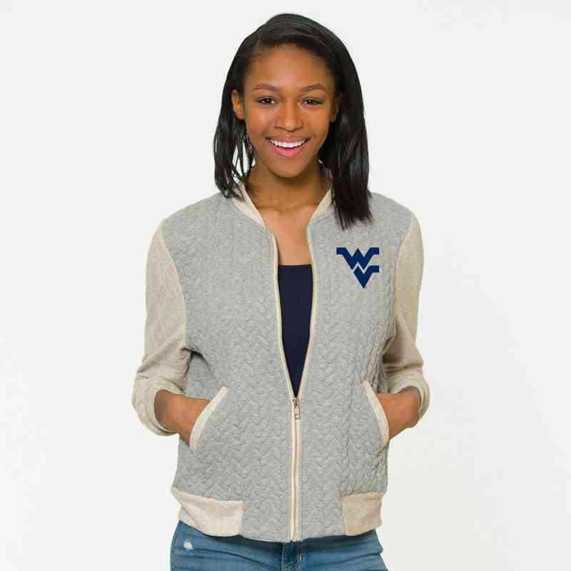 West Virginia Roni Letterman Jacket by Flying Colors