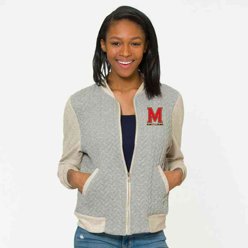 Maryland Roni Letterman Jacket by Flying Colors