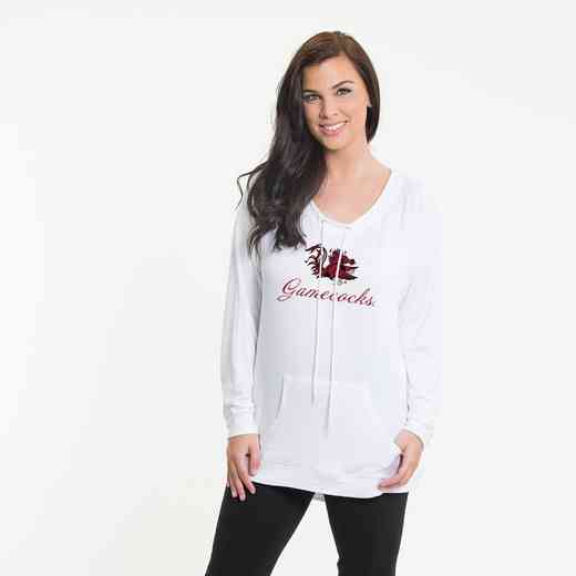 South Carolina- Katie Key-hole cut-out back pullover by Flying Colors