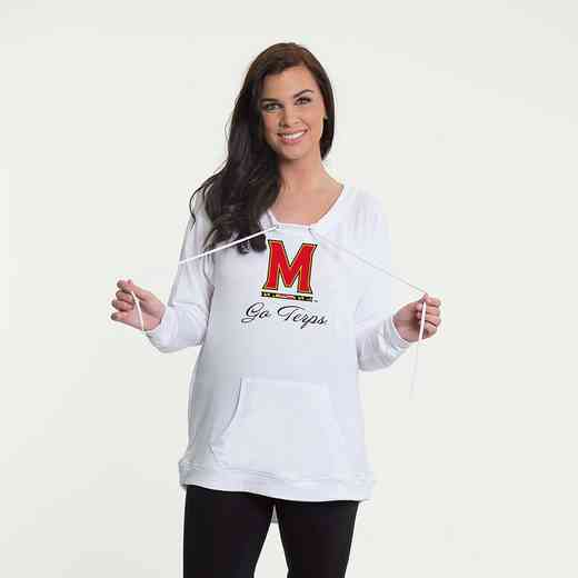Maryland- Katie Key-hole cut-out back pullover by Flying Colors