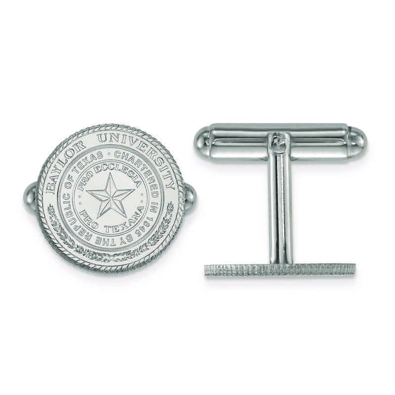 SS040BU: SS LogoArt Baylor University Crest Cuff Link
