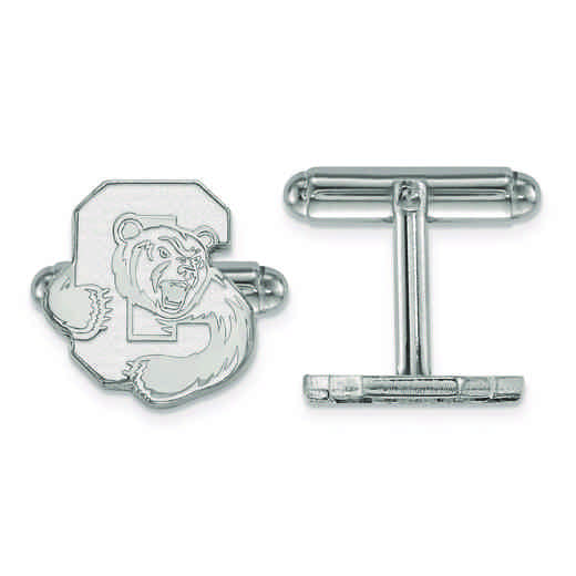 SS002COU: SS LogoArt Cornell University Cuff Links