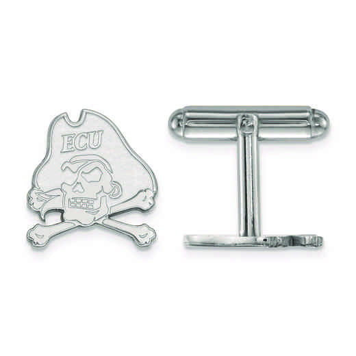 SS060ECU: SS LogoArt East Carolina University Cuff Links