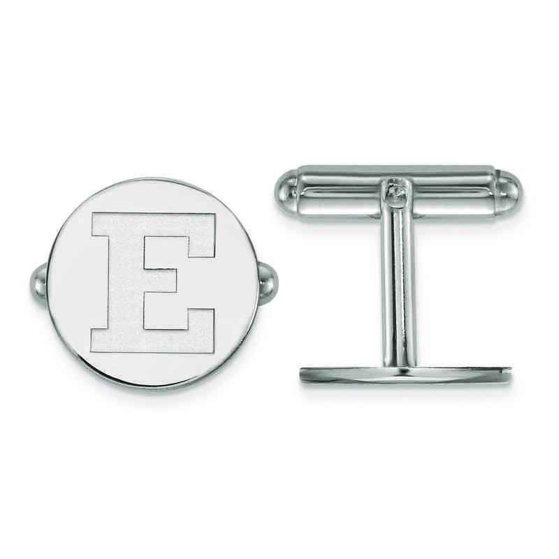 SS024EMU: SS LogoArt Eastern Michigan University Cuff Links