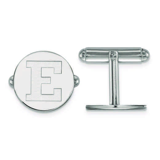 SS024EMU: SS LogoArt Eastern Michigan University Cuff Links
