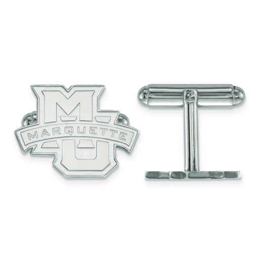 SS029MAR: SS LogoArt Marquette University Cuff Links