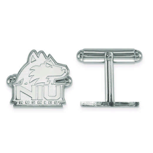 SS010NIU: SS LogoArt Northern Illinois University Cuff Link
