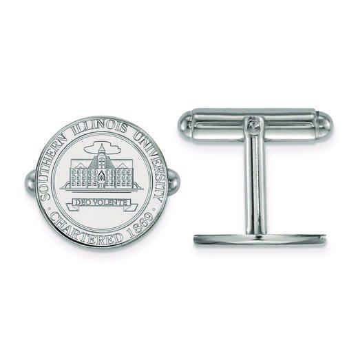SS023SIU: SS LogoArt Southern Illinois University Crest Cuff Link