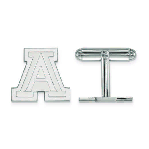 SS010UAZ: SS LogoArt University of Arizona Cuff Link