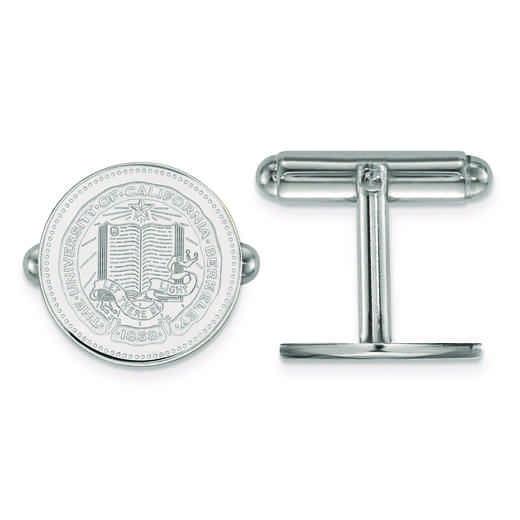 SS041UCB: SS LogoArt University of California Berkeley Crest Cuff Link