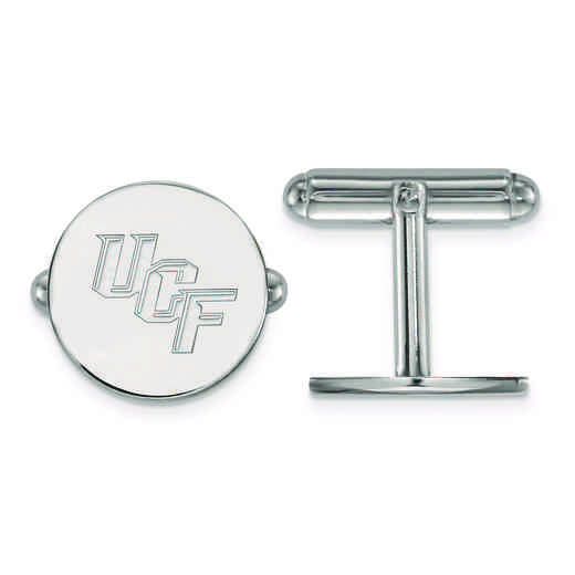 SS010UCF: SS LogoArt University of Central Florida Cuff Link