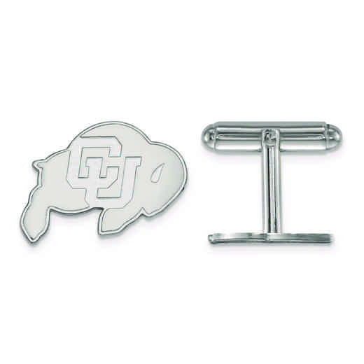SS010UCO: SS LogoArt University of Colorado Cuff Link
