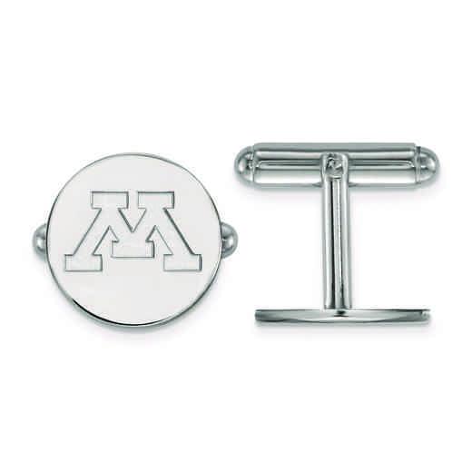 SS010UMN: SS LogoArt University of Minnesota Cuff Link