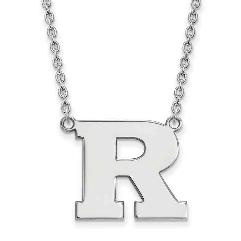 0ba7056d689e3 Sterling Silver LogoArt Rutgers Large Pendant with Necklace