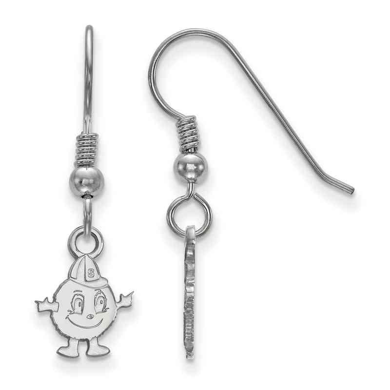 SS026SYU: SS LogoArt Syracuse Univ XS Dangle Earrings