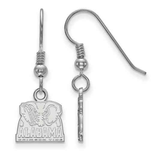 SS064UAL: SS LogoArt Univ of Alabama XS Dangle Earrings