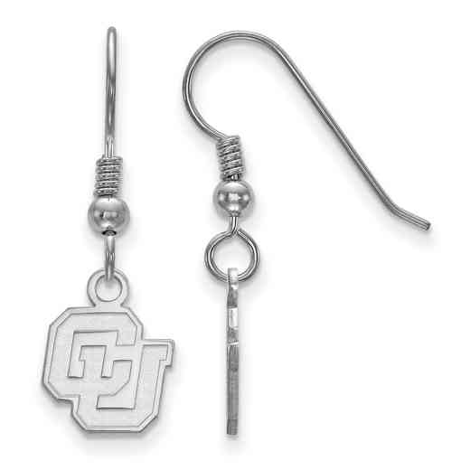 SS028UCO: SS LogoArt Univ of Colorado XS Dangle Earrings