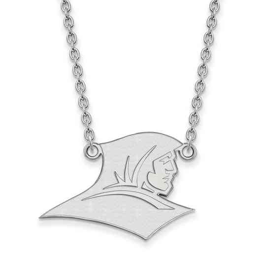 SS008PRC-18: SS LogoArt Providence College LG Pendant w/Necklace