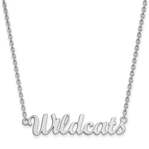 SS065KSU-18: SS LogoArt Kansas St Univ Medium Pendant w/Necklace