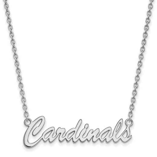 SS067UL-18: SS LogoArt Univ of Louisville Medium Pendant w/Necklace