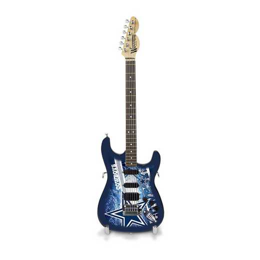 GMNFL09: TSV  Dallas Cowboys Mini Guitar