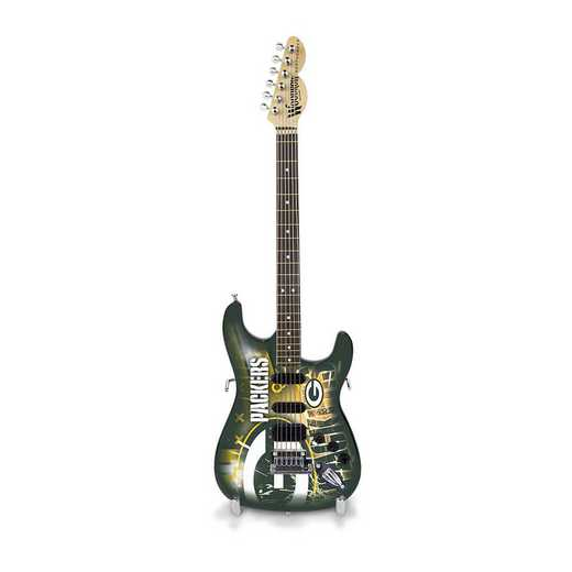 GMNFL12: TSV  Green Bay Packers Mini Guitar