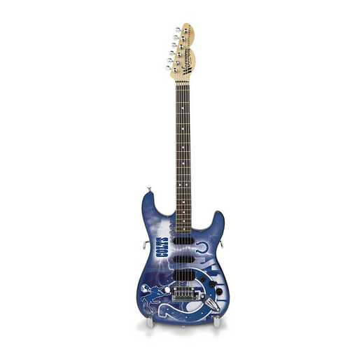 GMNFL14: TSV  Indianapolis Colts Mini Guitar
