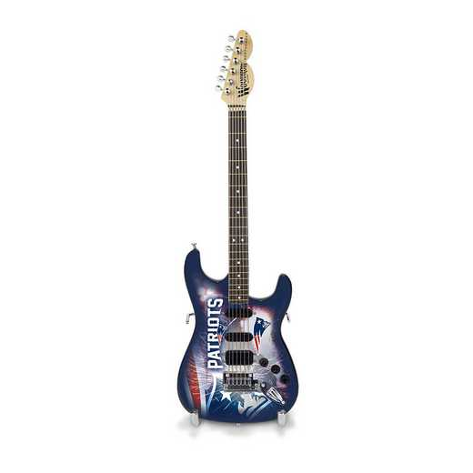 GMNFL19: TSV  New England Patriots Mini Guitar