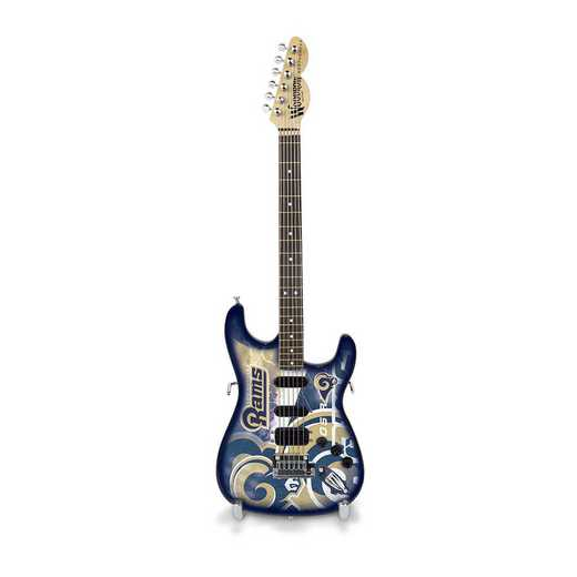 GMNFL26: TSV  Los Angeles Rams Mini Guitar