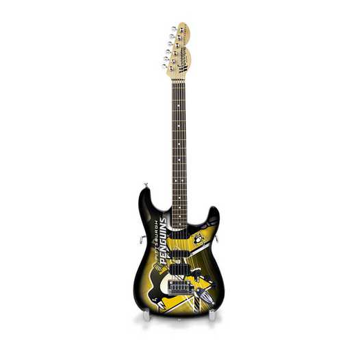GMNHL34: TSV  Pittsburgh Penguins Mini Guitar