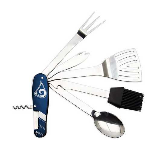BQNFL26: TSV   Los Angeles Rams BBQ Multi Tool
