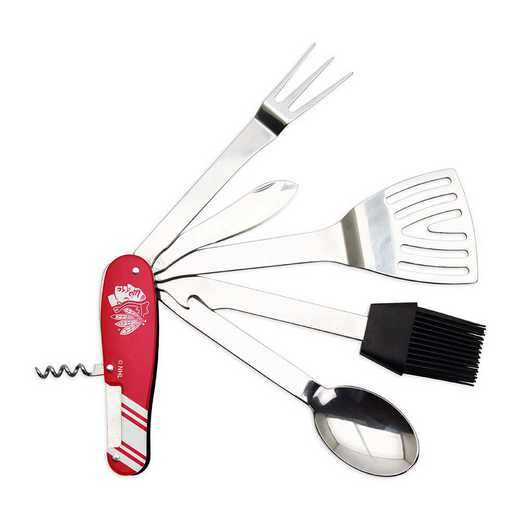 BQNHL07: TSV   Chicago Blackhawks BBQ Multi Tool