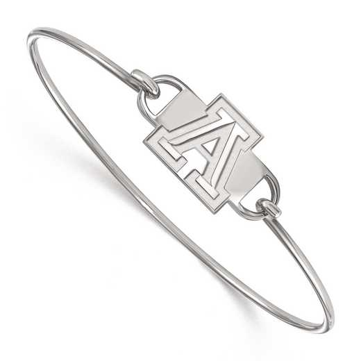 SS015UAZ-7: SS LogoArt Univ of Arizona MED Ctr Wire Bangle