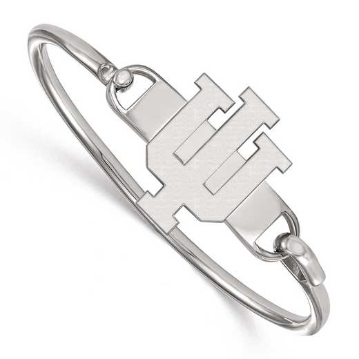 SS021IU-7: SS LogoArt Indiana Univ Bangle