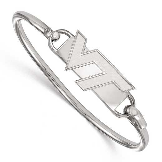 SS015VTE-7: SS LogoArt Virginia Tech Bangle