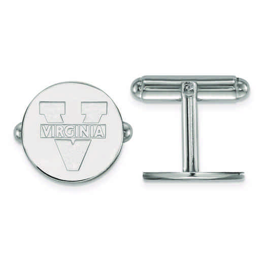 SS012UVA: SS LogoArt University of Virginia Cuff Link