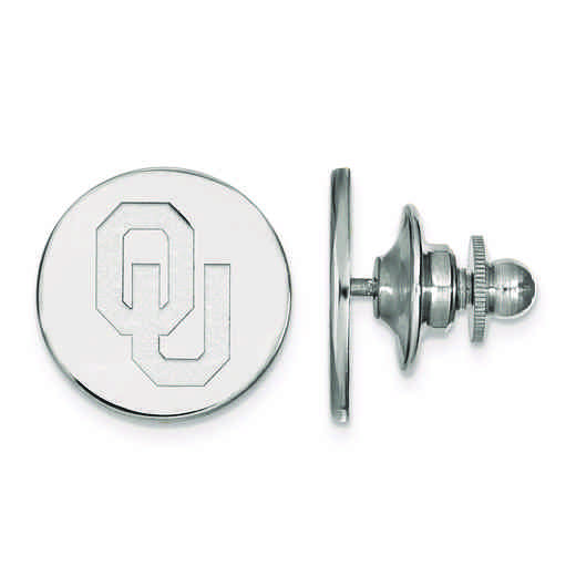 SS010UOK: SS LogoArt University of Oklahoma Tie Tac