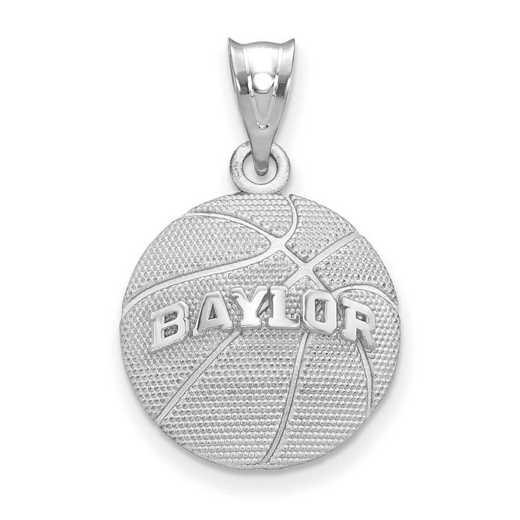 SS507BU: SS Baylor Univ Basketball Pendant