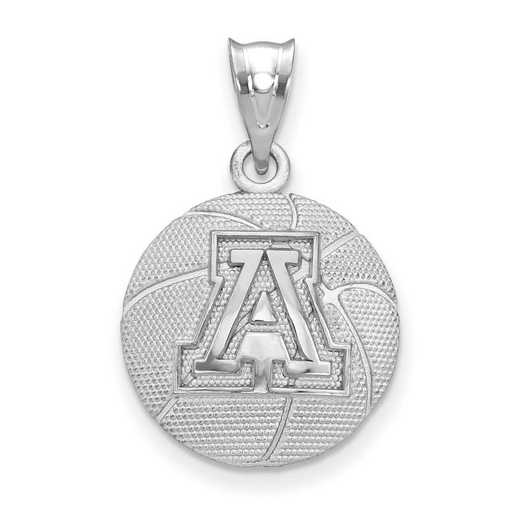 SS507UAZ: SS Univ Of Arizona Basketball Pendant