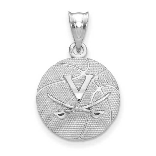 SS507UVA: SS Univ of Virginia Basketball Pendant