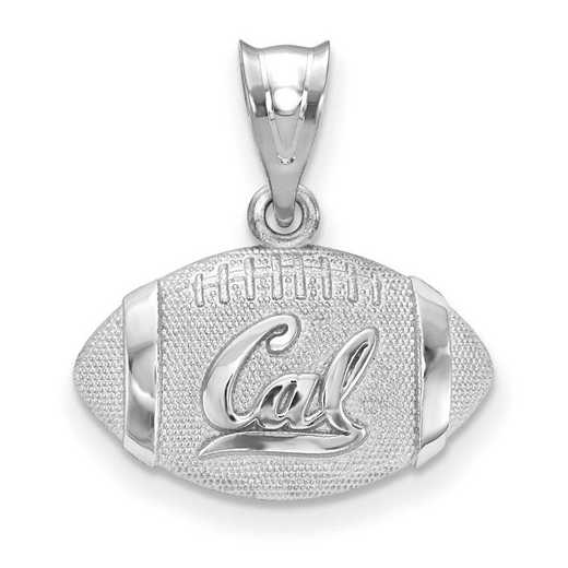 SS506UCB: SS Univ Of California Berkeley Football Pendant