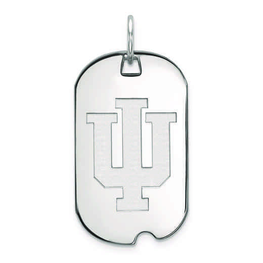 SS027IU: SS LogoArt Indiana University Small Dog Tag