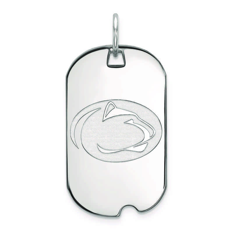 SS030PSU: SS LogoArt Penn State University Small Dog Tag