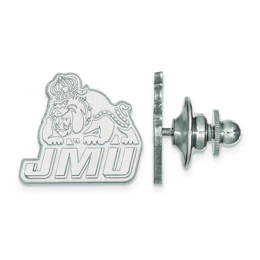 SS019JMU: SS LogoArt James Madison University Lapel Pin