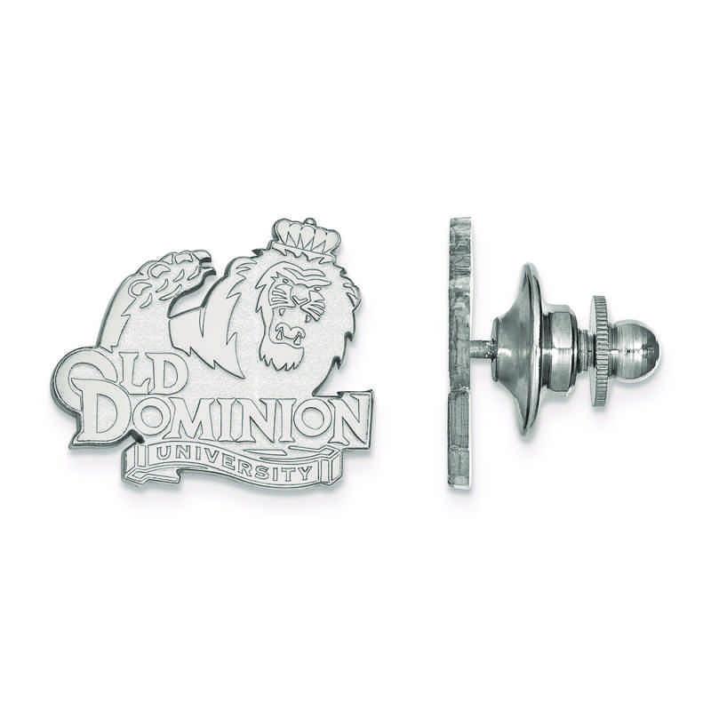 SS009ODU: SS LogoArt Old Dominion University Lapel Pin